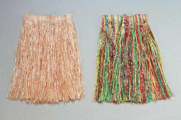 Hawaiian Grass Skirt Hawaii Tropical Beach Magnum Five O Fancy Dress Outfit